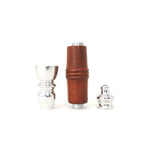 "3"" Metal Pipe with Wooden Sleeve - Assorted Colors"