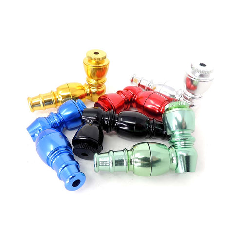 "3.5"" Anodized Metal Pipe - Assorted Colors"