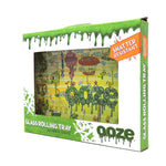 Ooze Glass Rolling Tray - The Works (SM, MED)