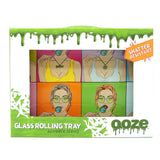 Ooze Glass Rolling Tray - Candy Shop (SM, MED)