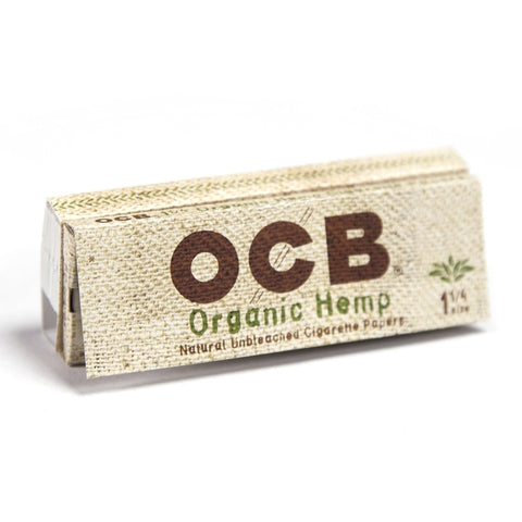 OCB Organic Hemp 1.25 + Tips Rolling Papers