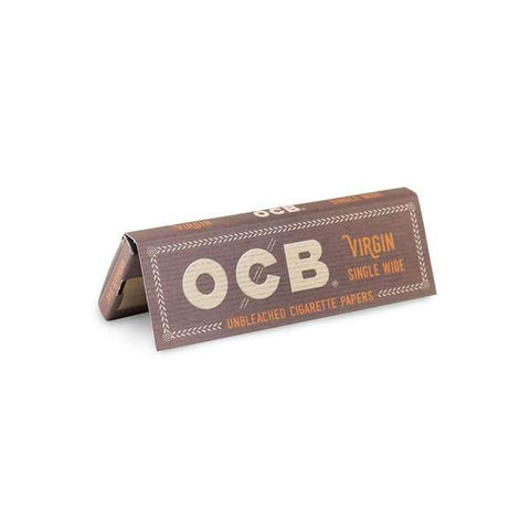 OCB Virgin Single Wide Rolling Papers