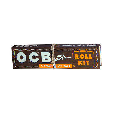 OCB Virgin King Size Slim Roll Kit