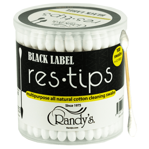 Randy's Res-Tips Cotton Swabs, randys black label snaps, alcohol filled q tips, randy res tips, randys accessories, iso snaps, alcohol filled cotton swabs, online smoke shop, online head shop, up-n-smoke, up in smoke