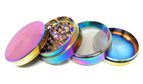 Rainbow Grinder - Assorted Sizes Herb Grinder Online Smoke Shop Online Head Shop