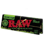 Raw Black Organic 1.25 Rolling Papers