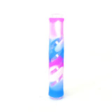 "3.5"" Silicone/Glass Hybrid Chillum - Assorted Colors!"