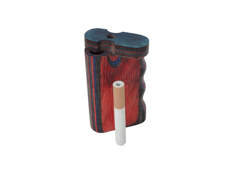 Dug Eeze Premium Paisley Twist Top Dugout Dugout online smoke shop dug eeze dugouts taster boxes Up-N-Smoke Online Head Shop