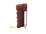 Dug Eeze Premium Merlot Twist Top Dugout w/ Poker Dugout online smoke shop dug eeze dugouts taster boxes Up-N-Smoke Online Head Shop