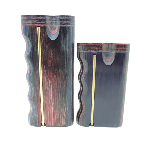 Dug Eeze Premium Paisley Dugout Twist Top w/ Poker Dugout online smoke shop dug eeze dugouts taster boxes Up-N-Smoke Online Head Shop