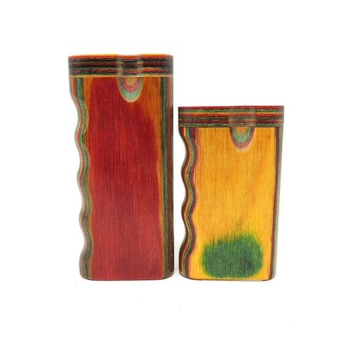 Dug Eeze Premium Rasta Dugout Lift & Lock Dugout online smoke shop dug eeze dugouts taster boxes Up-N-Smoke Online Head Shop