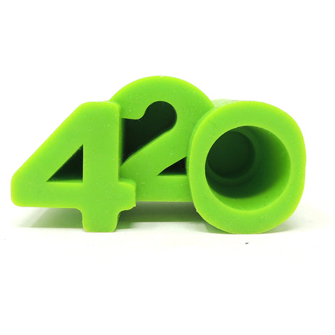 NoGoo Silicone 420 Stand - Green