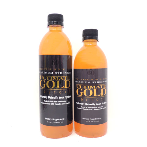 Ultimate Gold Detox (16oz, 20oz) - Original Flavor
