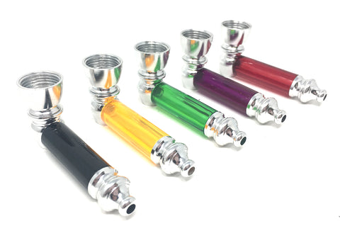 "2.5"" Metal Pipe - Assorted Colors!"