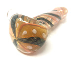 Color Changing Copperhead Hand Pipe