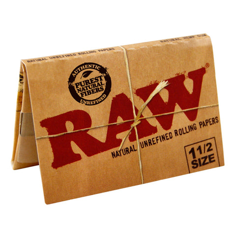 Raw Classic 1.5 Rolling Papers Up-N-Smoke Online Smoke Shop Online Head Shop Raw Rolling Papers Juicy Rolling Papers