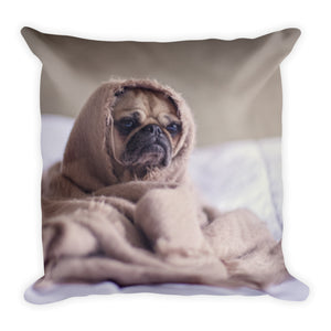 Pug in a Blanket (Reversible)
