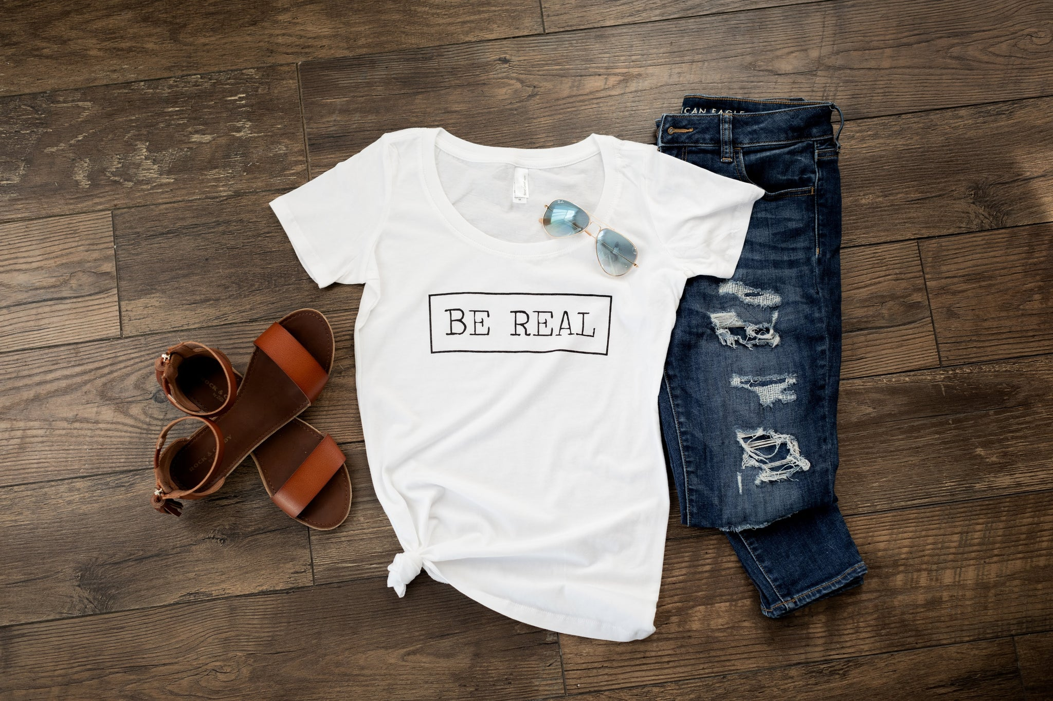 """Be Real"" Tee"