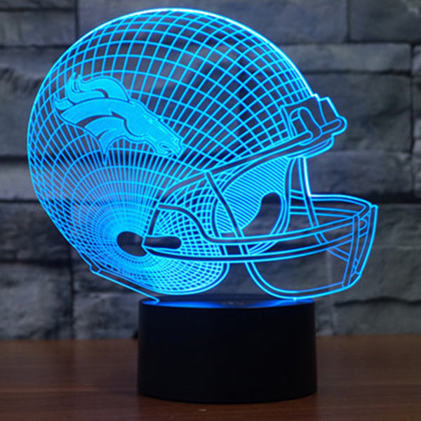 Denver Broncos LED Lamp