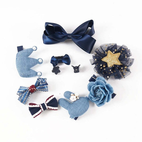 Hair Bows pack (10pcs)