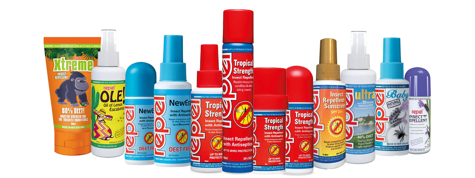 Repel insect repellent range New Zealand