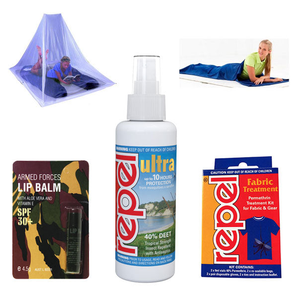 Compact Backpackers Kit