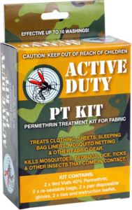Active Duty Permethrin Treatment Kit