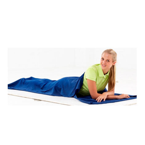 Equip Cotton Sleeping Bag Liner With Pillow Insert