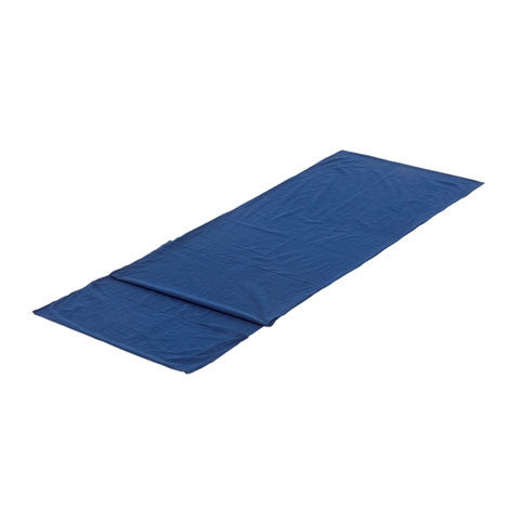Equip Silk Sleeping Bag Liner With Pillow Insert