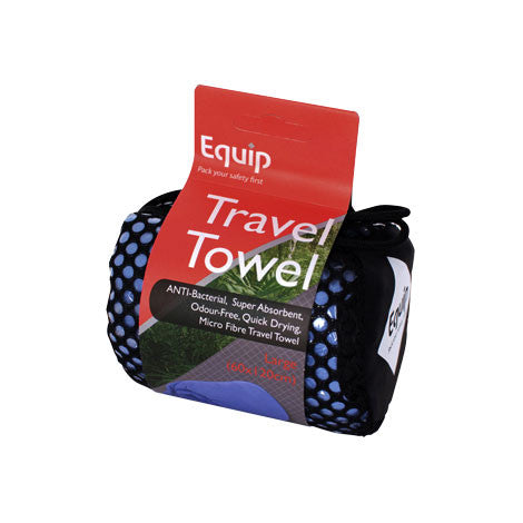 Anti-Bacterial Travel Towel Large