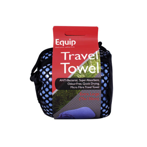 Anti-Bacterial Travel Towel Extra Large