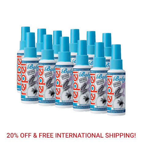 Repel Natural Baby Pump Spray 100ml (12 Bottle Bulk Pack)