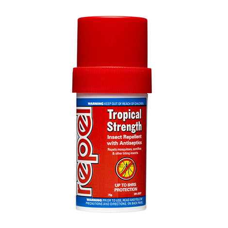 Repel Tropical Strength Stick 75g