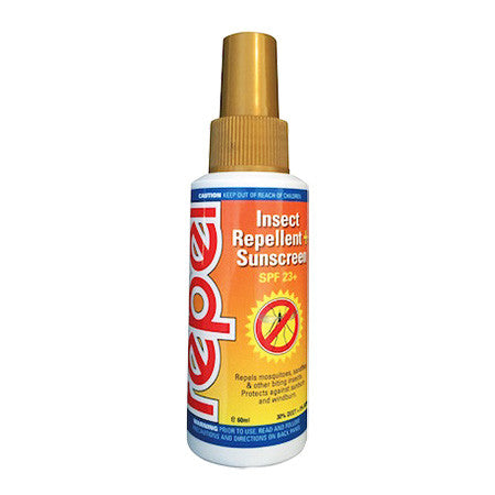 Repel Tropical Strength with SPF 23+ Sunscreen 60ml