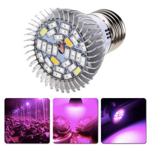 18W/28W  E27 Full spectrum LED Grow Light