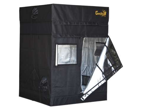 Gorilla Grow Tent - Shorty Line - 4' x 4' Heavy Duty Grow Tent