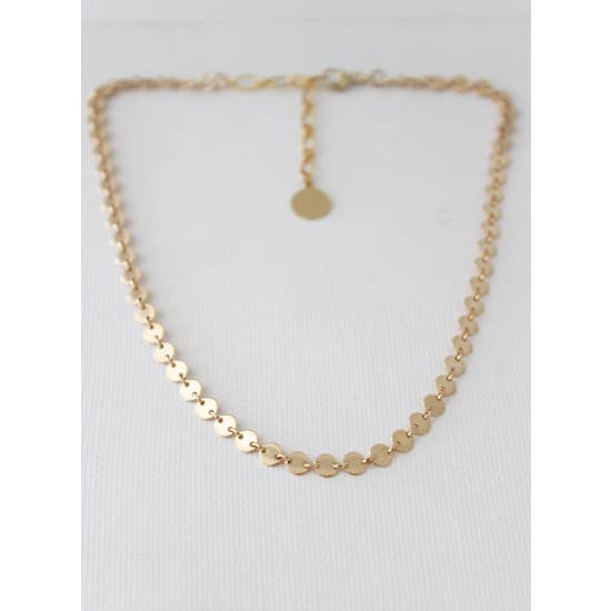 gold choker- hs collection