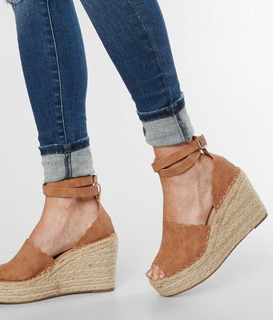jade tan wedge