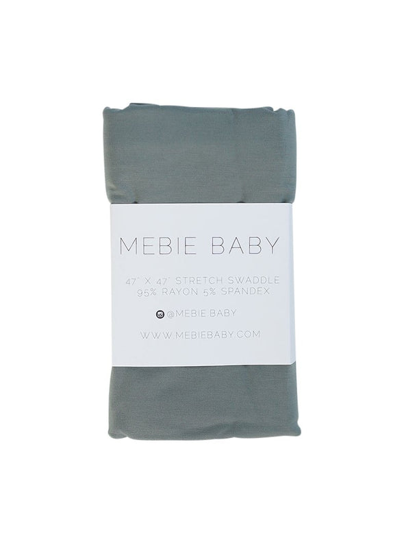 dusty blue stretch swaddle