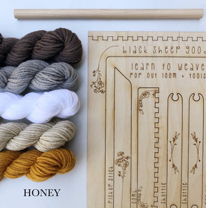 tapestry weaving kit honey