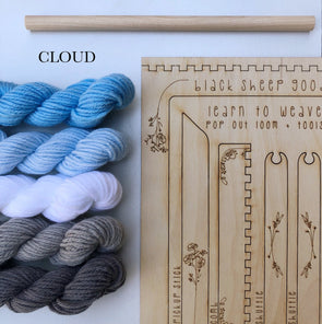 tapestry weaving kit cloud