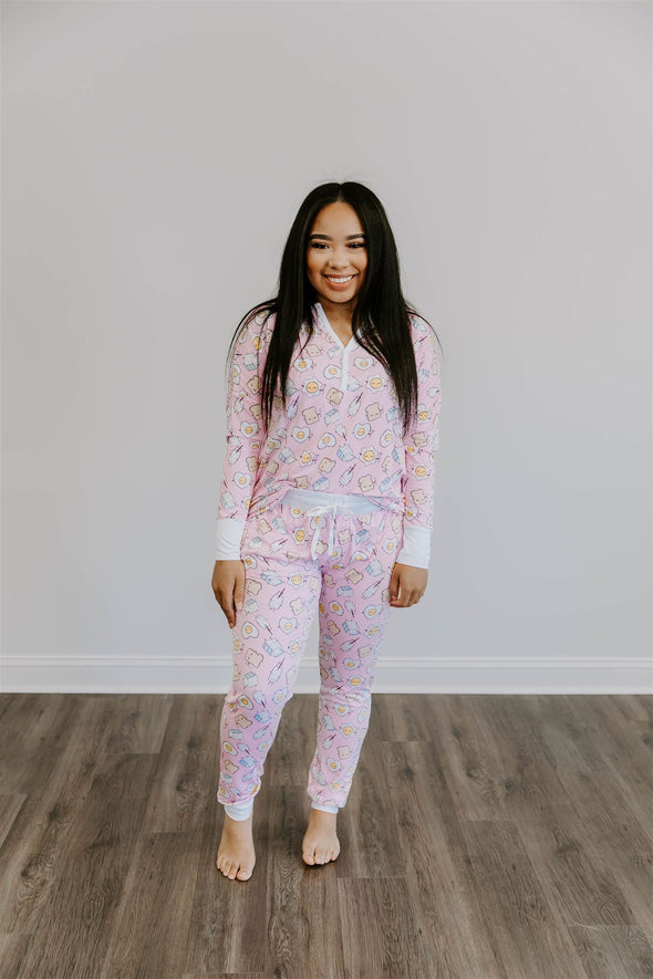 breakfast pajama set