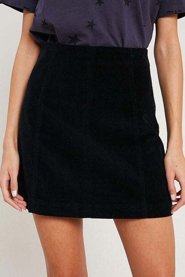 stormi black skirt
