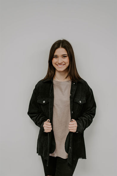 shane jacket black