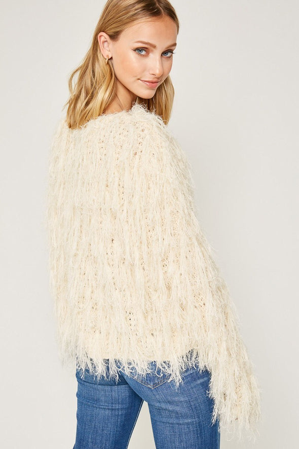 Dallas fringe sweater