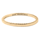 Brass Bangle San Francisco