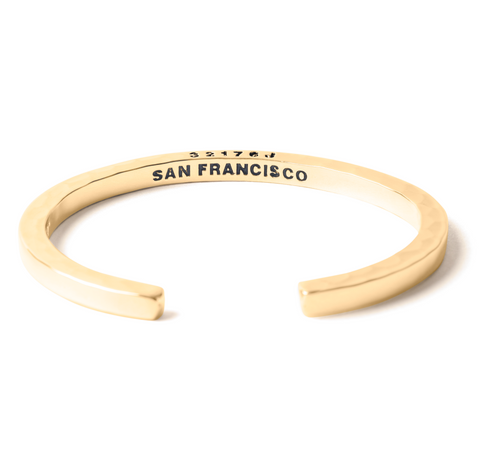 Brass Cuff San Francisco