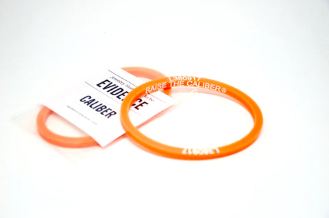Raise The Caliber® Wear Orange Bracelet