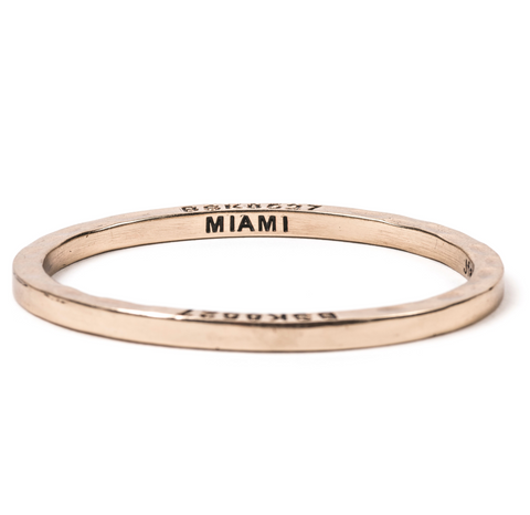 Brass Bangle Miami