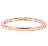 Rose Gold Bangle Miami